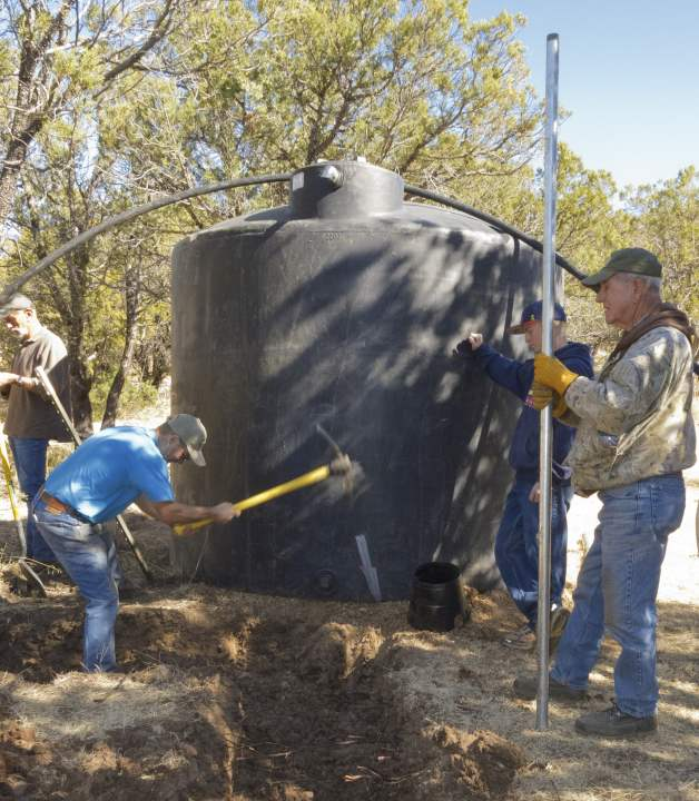 Mountain Vista Water Tank Bell : Sunnyside february nwtf huachuca gould s chapter